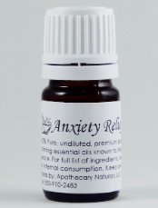 Anxiety Relief Essential Oil Synergy Blend