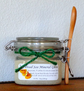 Mineral Glow Lemon Splash Dead Sea Body Scrub