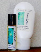 Patchouli Natural Skincare Set