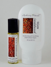 Warm Sandalwood Aftershave Care Set